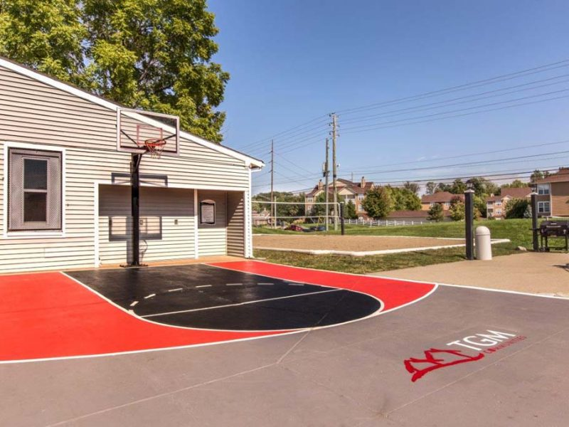 TGM Autumn Woods Apartments Basketball Court