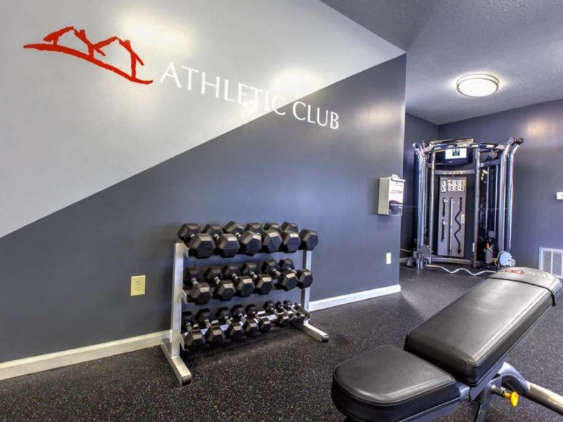 TGM Autumn Woods Apartments Fitness Gym