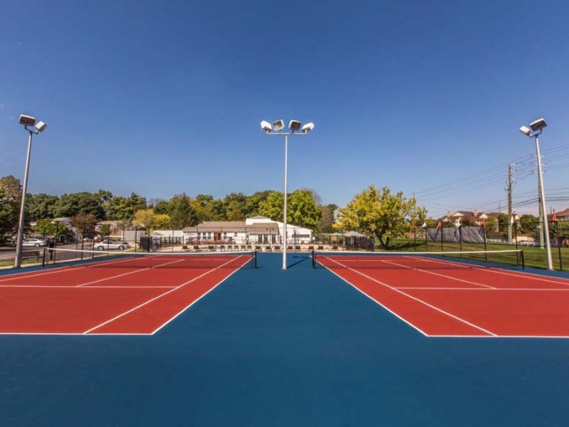TGM Autumn Woods Apartments Tennis Court